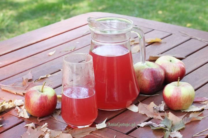 Kompot z żurawiny i jabłek, 1