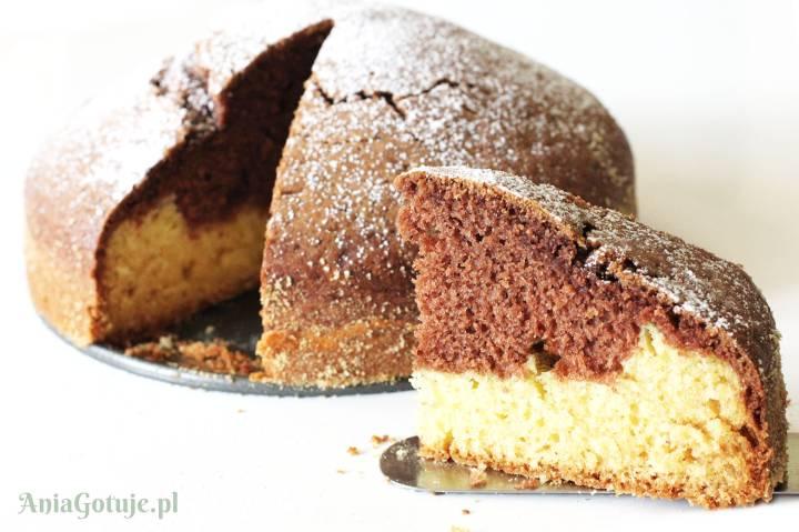 """Proste ciasto """"Dzień i Noc"""", 2"""