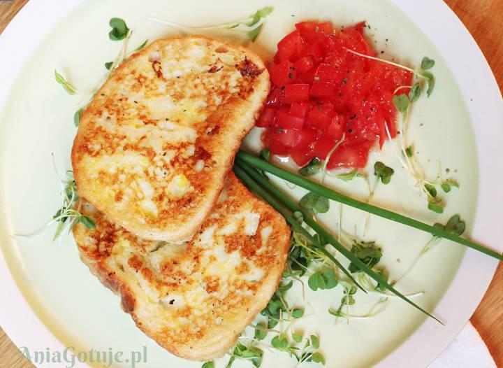 Klasyczne tosty francuskie, 2