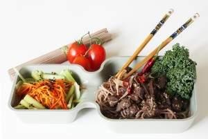 Wołowina orientalna z makaronem Soba