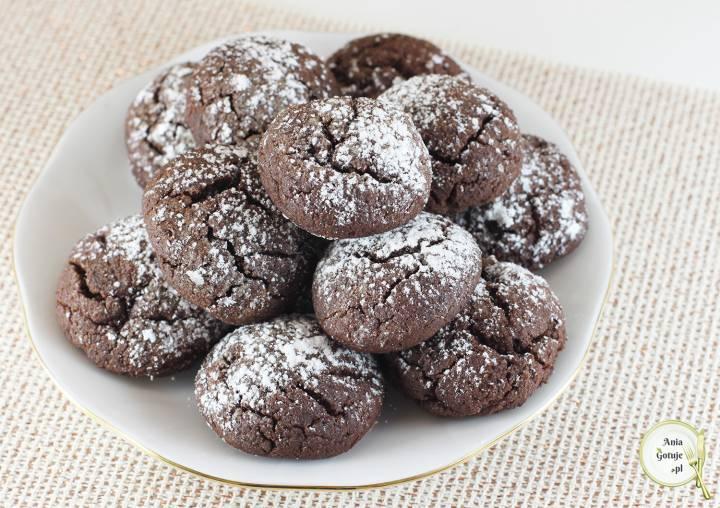 Czekoladowe ciasteczka z mąki gryczanej, 1