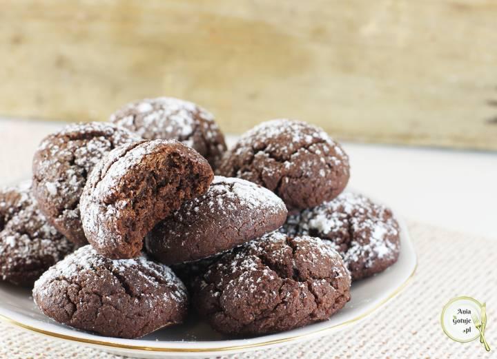 Czekoladowe ciasteczka z mąki gryczanej, 3