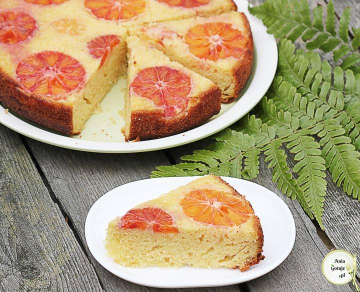 Odwrócone ciasto jogurtowe z pomarańczą, 2