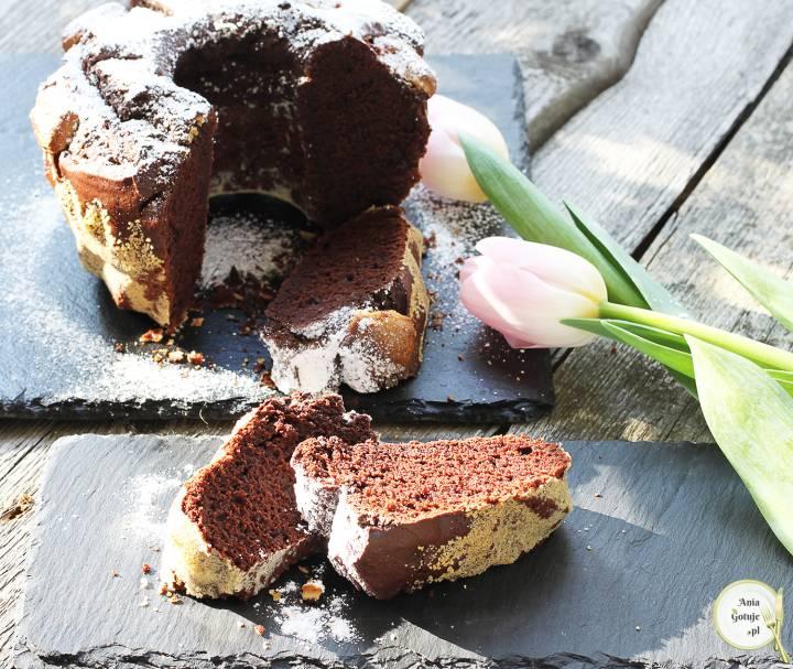 Wielkanocna babka czekoladowa, 2