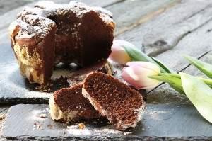 Wielkanocna babka czekoladowa