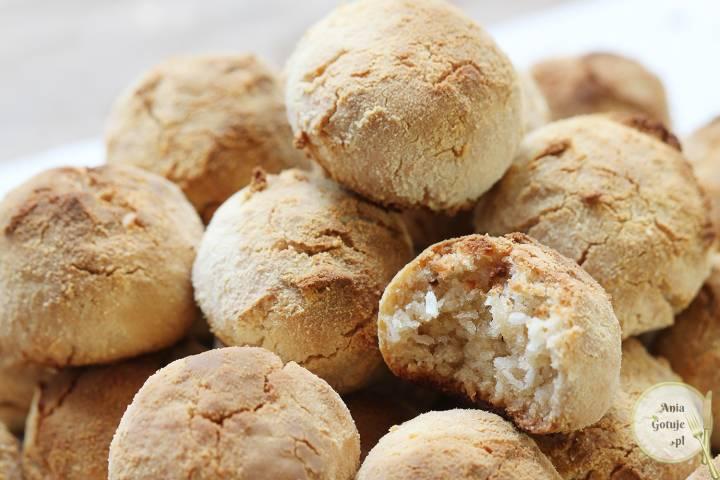 Ciasteczka kokosowe z mąki amarantusowej, 2