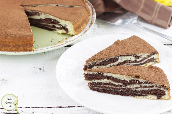 Ciasto zebra, 1