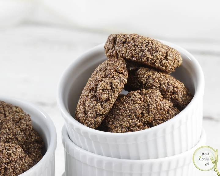 Ciasteczka amarantuski kakaowe, 3