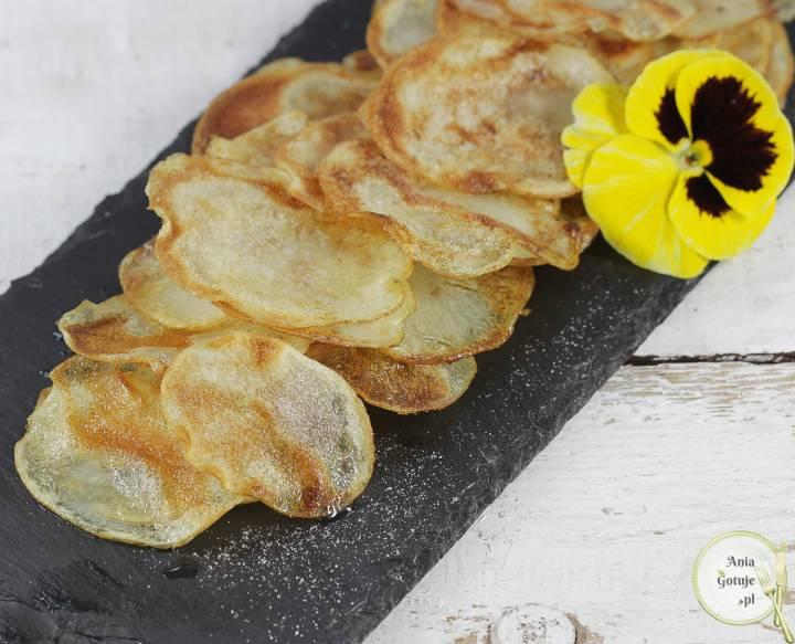 Domowe chipsy z patelni, 2