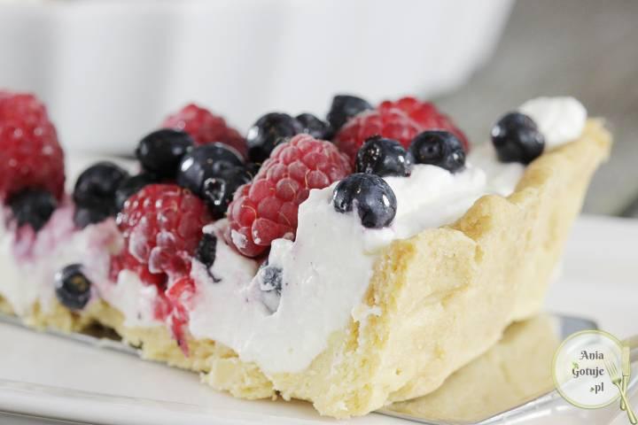 Tarta z mascarpone i owocami, 3
