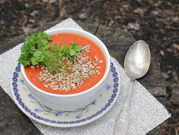 Zupa krem z pomidorów
