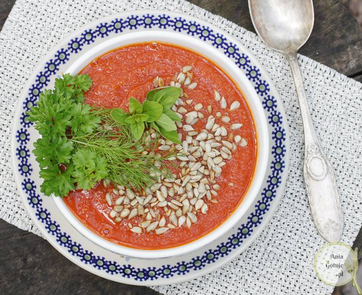 Zupa krem z pomidorów, 1