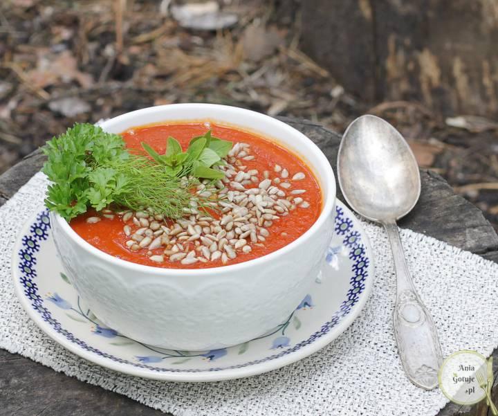 Zupa krem z pomidorów, 2