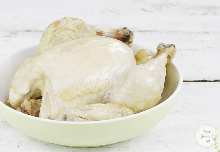 Kurczak pieczony - blady, 1