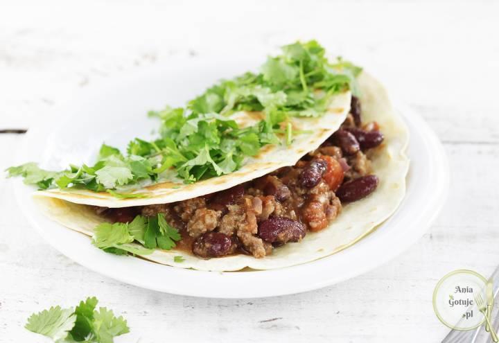 Wrap meksykański z wołowiną, 1