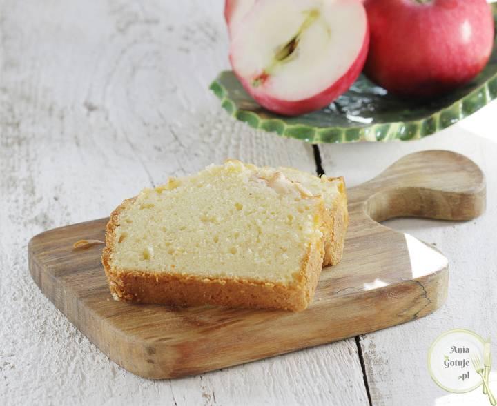 Proste ciasto ucierane z jabłkiem, 1
