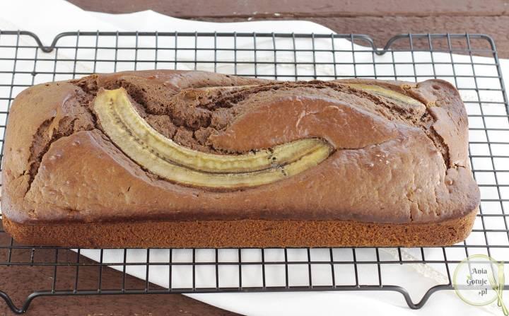 Ciasto czekoladowo bananowe, 1