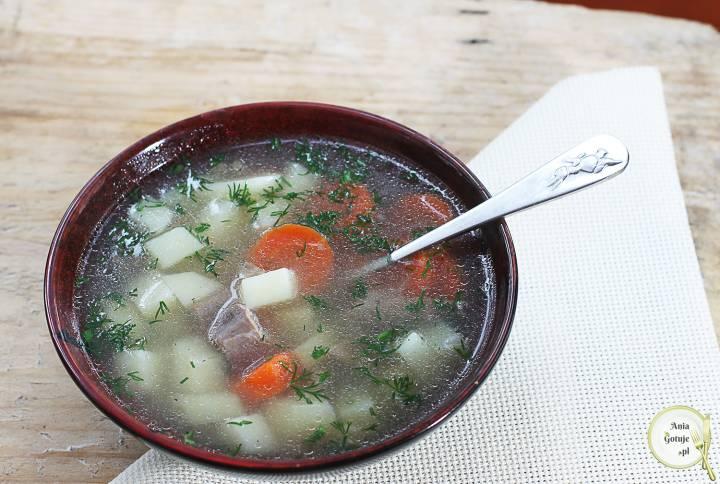 Zupa pęczakowa, 1