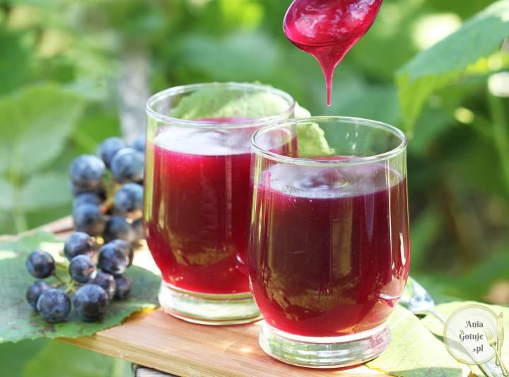 Domowy kisiel z winogron, 3