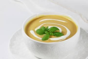 Dyniowa zupa krem bez bulionu