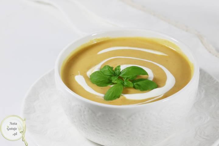 Dyniowa zupa krem bez bulionu, 1