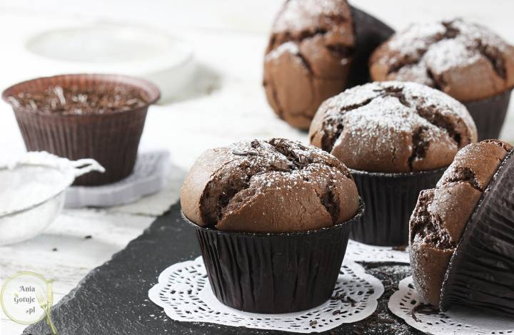 Muffinki murzynki, 2