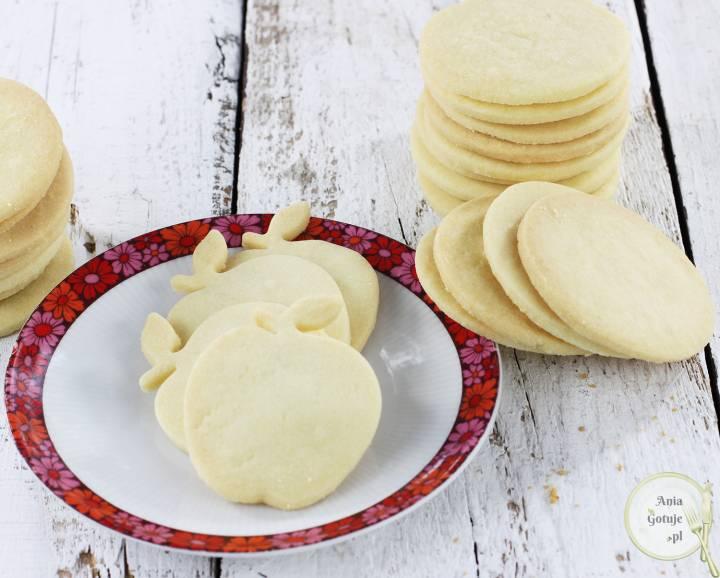 Kruche ciasteczka maślane, 1