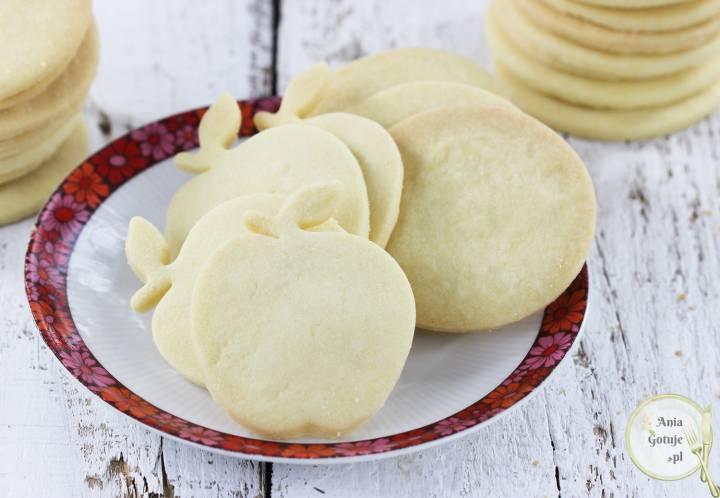 Kruche ciasteczka maślane, 2