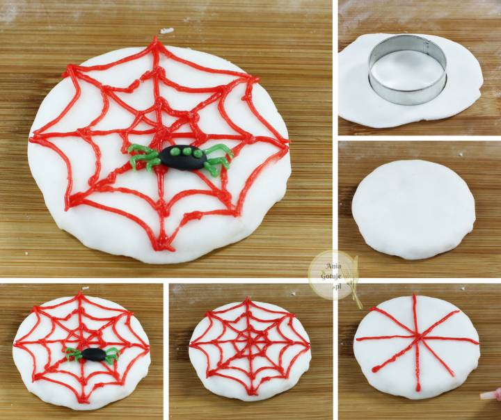 Halloween - ciasteczka z potworami, 5