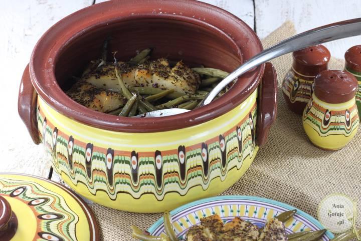 Gjuwecz - halibut pieczony z dzikim ryżem i fasolką, 3