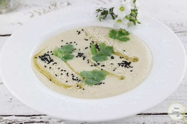 Zupa krem z topinamburu i ciecierzycy, 1