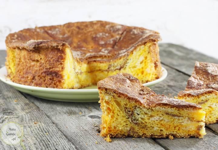 Ciasto drożdżowe z dynią i cynamonem, 2
