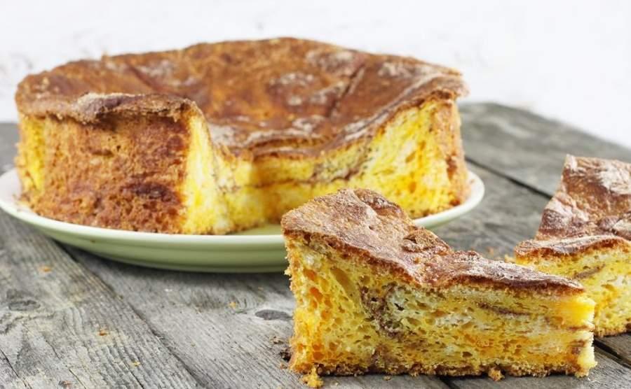 Ciasto drożdżowe z dyni