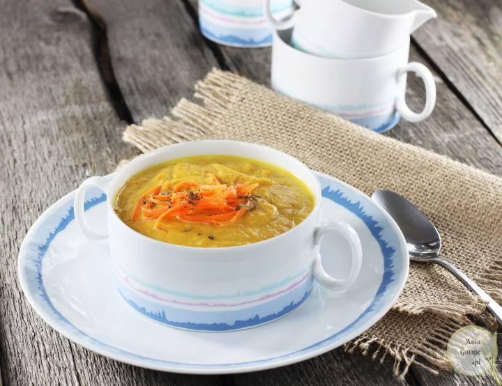 Lekko kremowa zupa marchwiowa, 1