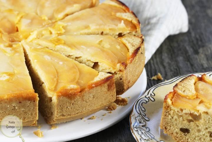Odwrócone ciasto z jabłkiem, 2