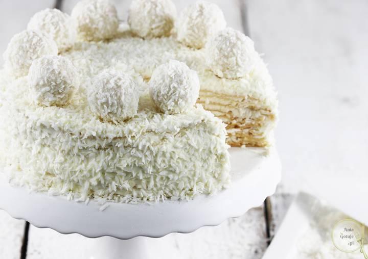 Tort Raffaello na andrutach, 1