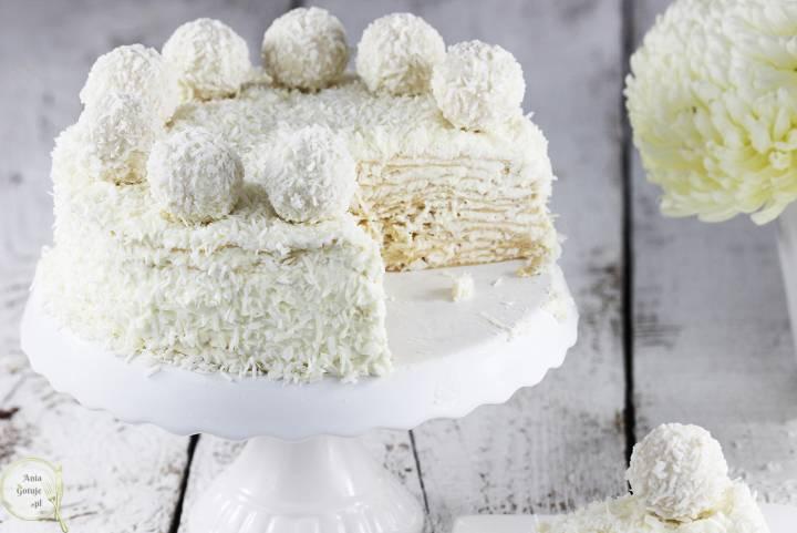 Tort Raffaello na andrutach, 2