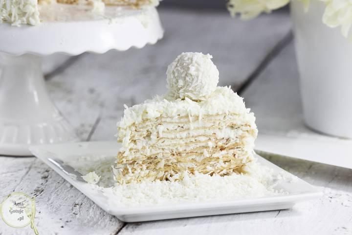 Tort Raffaello na andrutach, 3