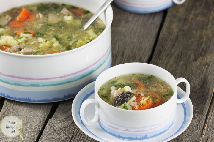 Prosta zupa z czterech warzyw, 2