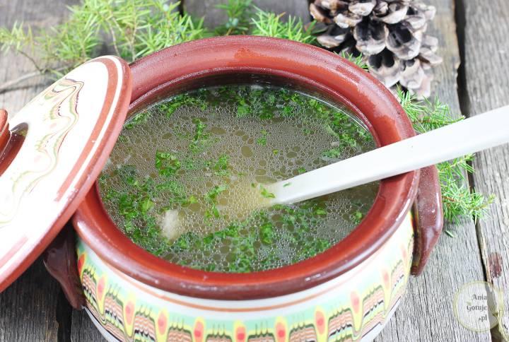 Wigilijna zupa z karpia, 1