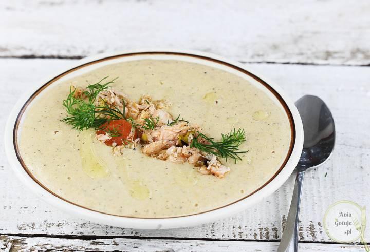 Zupa krem z łososia, 1