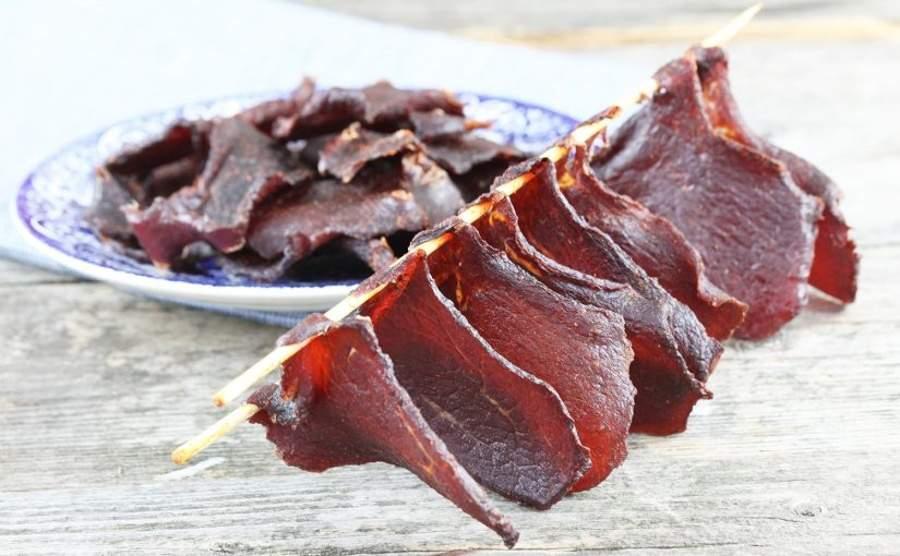 Domowe beef jerky - suszona wołowina