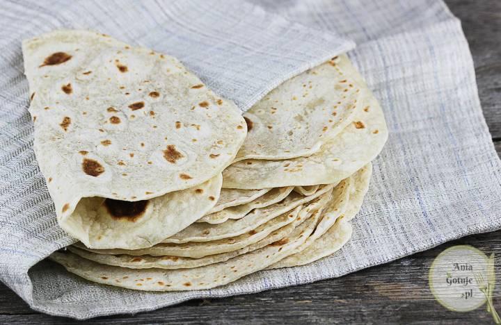 Domowe tortille pszenne, 2