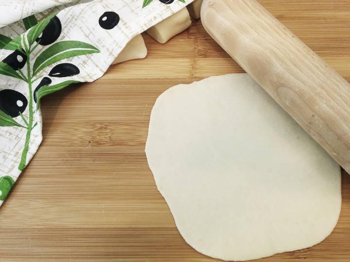 Domowe tortille pszenne, 1