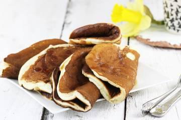 Pancakes waniliowy puch