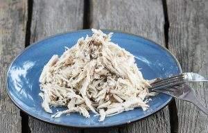 Pulled chicken - pierś kurczaka szarpana