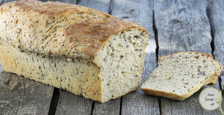 Domowy chleb pszenny na kefirze, 2