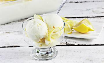 Domowe lody cytrynowe