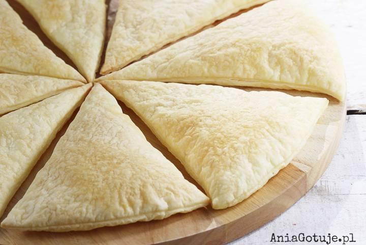 Słodka pizza z ciasta francuskiego, 1