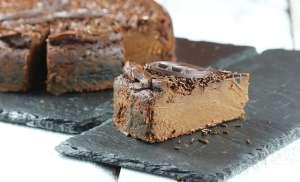 Sernik czekoladowy jak z bajki